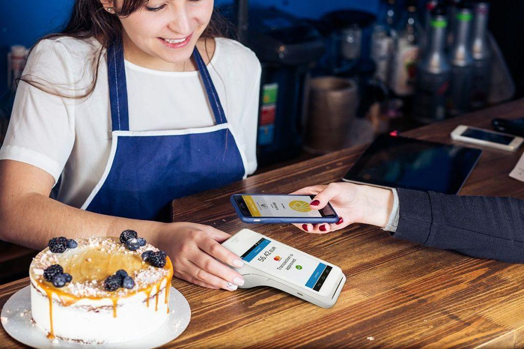 myPOS Lettore Pos mobile NFC per stabilimenti balneari