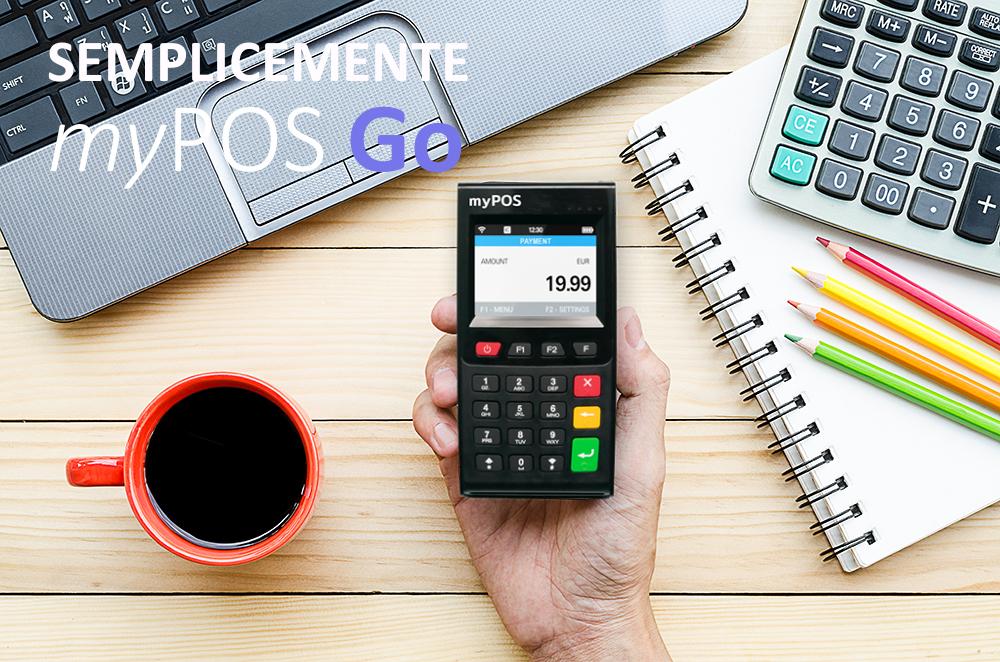 myPOS GO terminale POS mobile WIFI